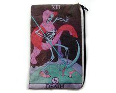 DEATH Tarot Card Makeup Bag by oliviafrankenstein on Etsy