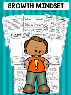 Encourage a Growth Mindset in your classroom with these FUN activities! This resource contains ENGAGING activities that help students understand and develop a growth mindset.Included:* Cut and paste worksheets: the students will cut the sentences at the bottom of the page and glue them in the correct column* Reading comprehension passage* Color by the code activity* Growth Mindset Motto (the students can chant the words)* Coloring pages* A sorting game*  Cut and paste a sentence sheets…