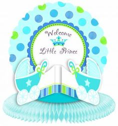 Little Prince Baby Shower Table Centerpiece