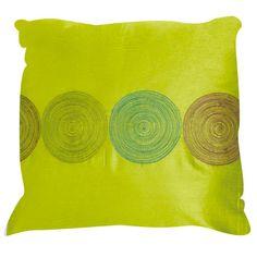 Holbrook 16x16 Pillow - Lime Green Disc
