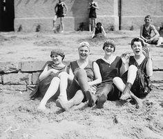Sunbathing, Washington DC, 1920