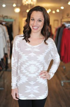 Dottie Couture Boutique - Tribal Tunic, $42.00 (http://www.dottiecouture.com/tribal-tunic/)