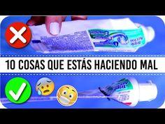 10 Cosas Que Estabas Haciendo Mal!! | Kika Nieto - YouTube Lifehacks, Youtube, Personal Care, Nails, Home Hacks, Grandchildren, Suit, Hipster Stuff, Finger Nails