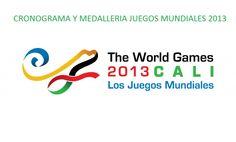 Cronograma Juegos Mundiales Timeline World Games Cali Colombia 2013