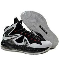 san francisco 5382c 248d7 Lebron X Elite Series Mens Shoes in Black and White, cheap Nike Lebron 10  P.S Elite, If you want to look Lebron X Elite Series Mens Shoes in Black  and White ...