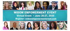 Virtual 2020 WidowEmpowermentEvent.com Registration Open for #Widows Worldwide 🌎 #ZOOMWebinar #WEE2020 #ModernWidowsClub