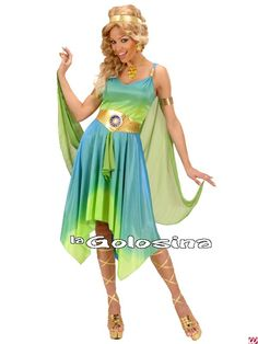 Zodiac gudinde kostume¨- BlikfangsKostumer. Ladies Fancy Dress, Goddess Costume, Princess Zelda, Disney Princess, Costumes For Women, Ballet Skirt, Legs, Halloween, Skirts