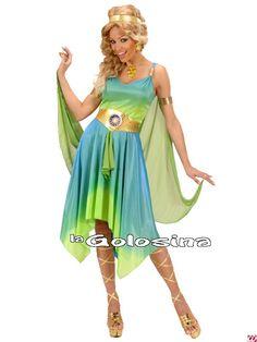 Disfraces adultos (chico/a) (13 a 100 años) - 04 - Egipcios, griegos, romanos, arabe -Disfraz Ad. Griega *.
