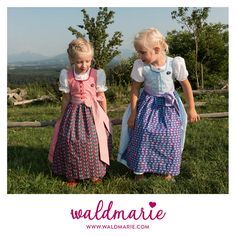 waldmarie.com Kinderdirndl #dirndl #kindermode #kidsfashion #fashion