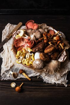Mushrooms by onegirlinthekitchen, via Flickr
