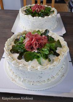 Kääpiölinnan köökissä: Kevään kakkukavalkadi Food Art, Yummy Food, Bread, Cooking, Desserts, Cakes, Drink, Savoury Cake, Recipes