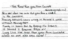 2Pac – The Rose That Grew from Concrete (Autobiographical) | Genius
