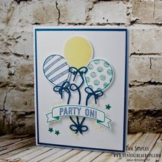 CCREW Step It Up #2 - Balloon Adventures by SunnyGirlScraps - Cards and Paper Crafts at Splitcoaststampers