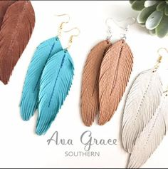 Diy Leather Earrings, Leather Jewelry, Leather Craft, Boho Jewelry, Rodeo Cowgirl, Gypsy Cowgirl, Boho Gypsy, Feather Earrings, Tassel Earrings