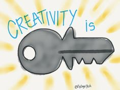 Creativity is Key #iPlza15 #growthmindset #creativity