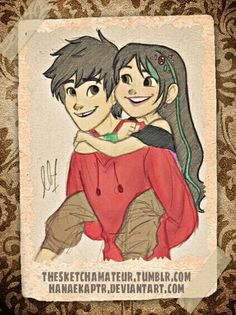 Vanellope and Hiro