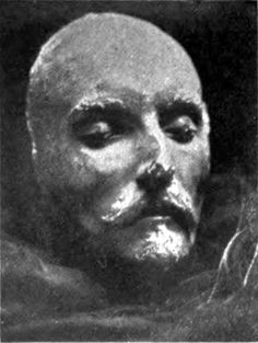 Shakespeare's death mask - is this for real?  Hmn,  cool if it is.