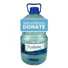 Donate 5L bottled water to Cape Town residents to help ease the impacts of drought. Each bottle contains5L of water for R10 ($1). This p