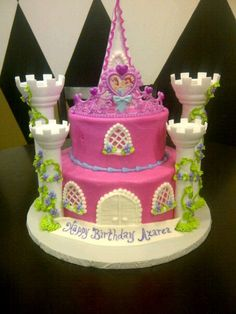 A Princess Birthday Cake