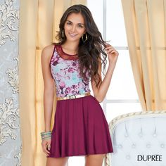 Para las que aman los vestidos. DUPREE MODA Skater Skirt, Skirts, Dresses, Fashion, Slip On, Hipster Stuff, Gowns, Moda, La Mode