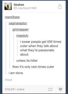 oh look. another tumblr post. nein times cuter edition. - Imgur
