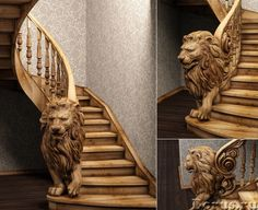 lion stairs