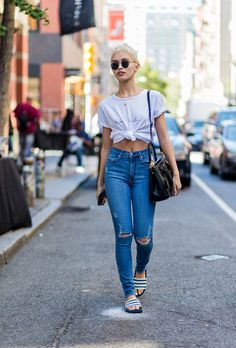 New York Fashion Week Street Style Spring 2017: The Best Moments from NYFW | StyleCaster