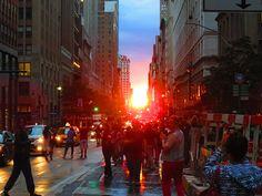 #Manhattanhenge