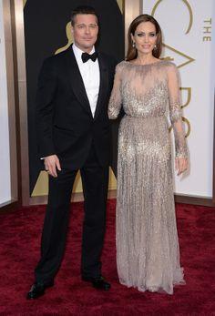 Angelina Jolie/Elie Saab Oscars 2014