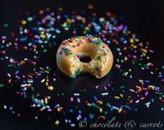 Funfetti Whole Wheat Baked Donuts-