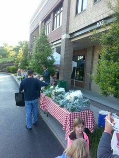 Dixie Lee Farmers Market. Spring 2014