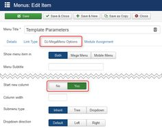 How to configure a multi column submenu in DJ-MegaMenu? #menu #Joomla #submenu #solution #how2joomla