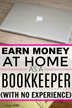 Make $40,000 per Year From Home as a Bookkeeper – If you want to earn money from home, love numbers, and helping people, then this is a side hustle for you!