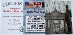 Der Berlinshop - Onlineshop für Berlin Souvenirs, Postkarten, Kleidung, Berliner Mauer - Berlin Wall,Piece,Souvenir