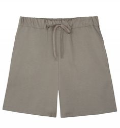Hyde Park Shorts in Tahiti Grey double-face cotton jersey. A luxe take on sporty sweatshorts from A. featuring on-seam side pockets and an elasticated waistband with flat braided cotton drawstring. Our Legacy, Hyde Park, Apc, Ss16, Swim Shorts, Looks Great, Casual Shorts, Menswear, Sporty