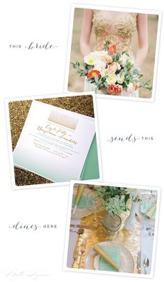 This Bride: Modern Mint