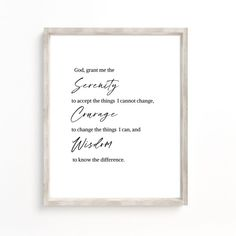 Joan Of Arc Quotes, Care About You Quotes, Reinhold Niebuhr, Sobriety Gifts, Courage Quotes, Online Printing Companies, Serenity Prayer, Affordable Wall Art, Motivational Words