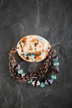 Fired Up Y'all Turquoise Bracelet | bourbonandboots.com