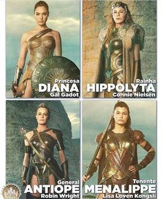 Amazonas.  Wonder Woman. All strong role models. For boys and girls alike