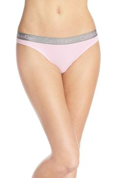Calvin Klein  Radiant  Cotton Thong (3 for  33)  0e4aae74a55