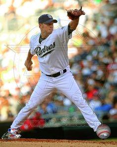 San Diego Padres - Jake Peavy Photo