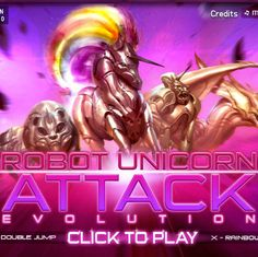 Try Robot Unicorn Attack 2 on your Android Phone... - posted by ashuli at BabbleLife