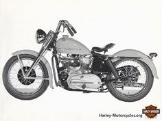 1950s Harley