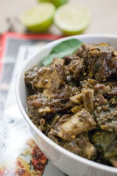 South Indian Style Mutton - Mutton pieces cooked and roasted with pepper and spices. It tastes great along with porotta, any sort of rice variants ( ghee rice, pulao, normal rice) and any Indian bread. Fried Fish Recipes, Lamb Recipes, Veg Recipes, Curry Recipes, Indian Food Recipes, Chicken Recipes, Cooking Recipes, Recipies, Cooking Games