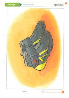 Soorten schoenen: sportschoen.