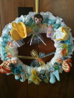 Fun idea for a baby shower :)