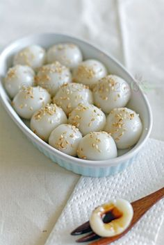 Banh Troi (Vietnamese Glutinous Rice Dumplings)