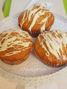 Muffins με παπαρουνόσπορο!