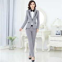 Women's Fashion Office Lady Suit(Blazer & Pants) – CAD $ 95.05