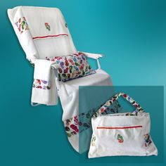 Beach Chair Cover Tote